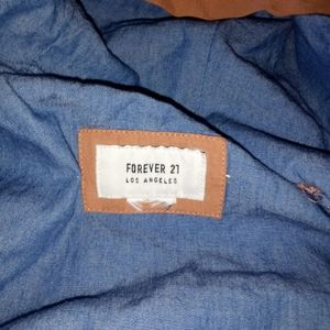 Forever 21  womens jacket size small